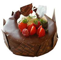 チョコレートケーキ 福岡 フジモト