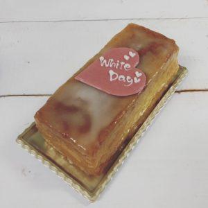 ホワイトデー 東区ケーキ シェフジモト